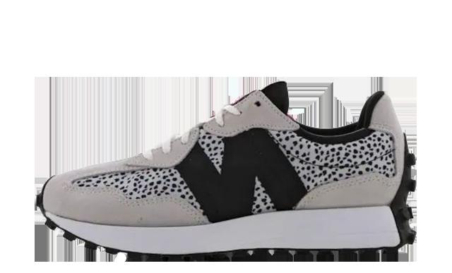 New Balance 327 Grey Black