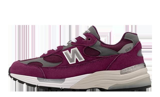 New Balance 992 Purple Grey