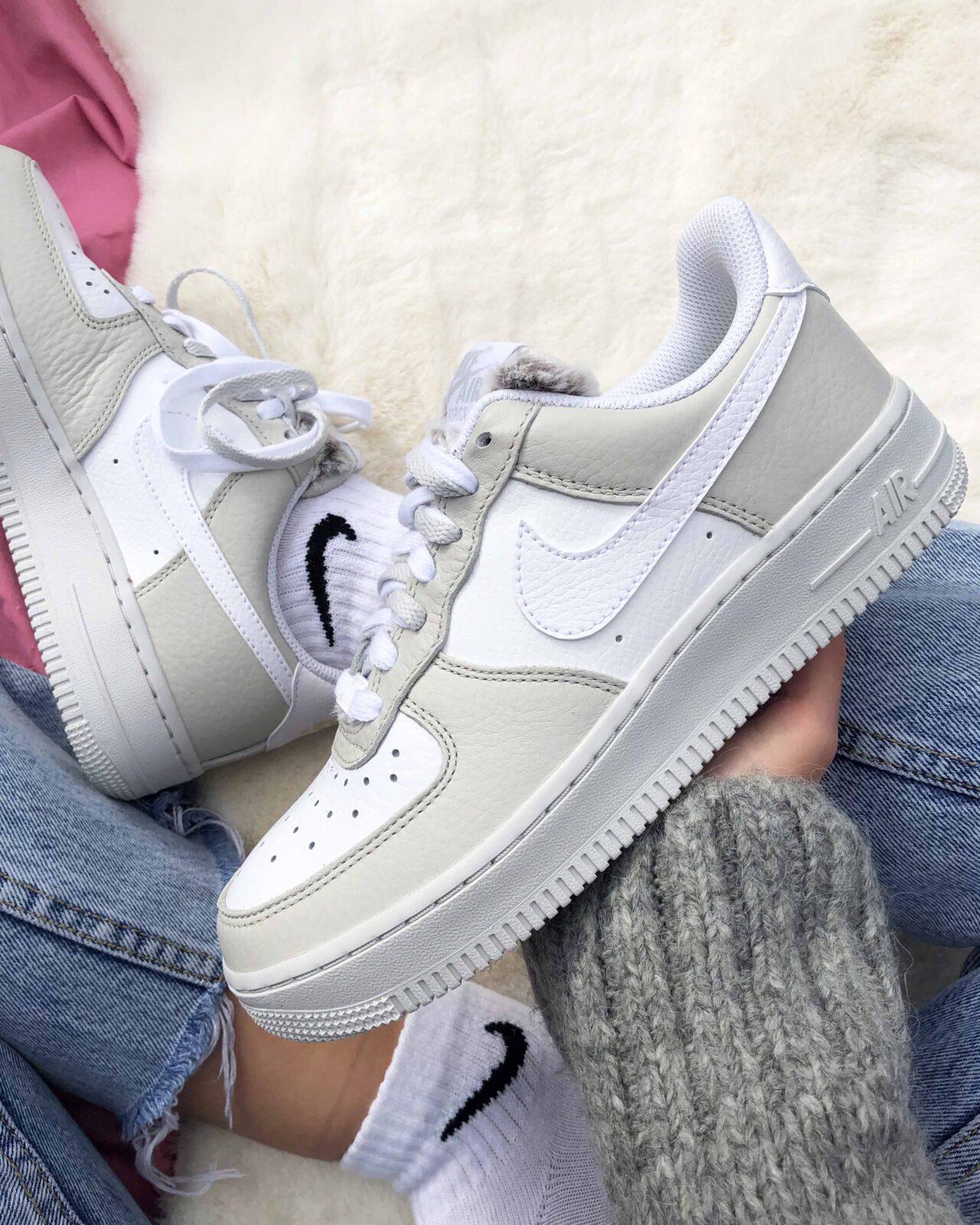 Winterised Nike Air Force 1 \