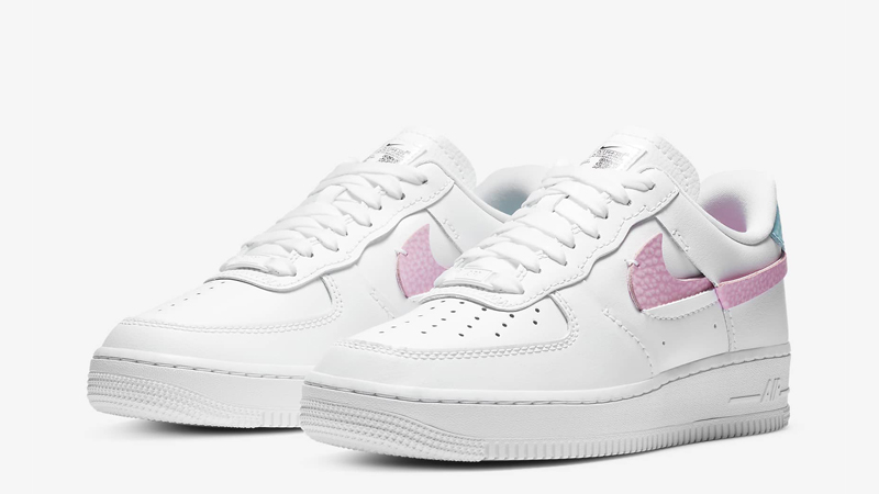 Nike Air Force 1 LXX White Pink Rise Front