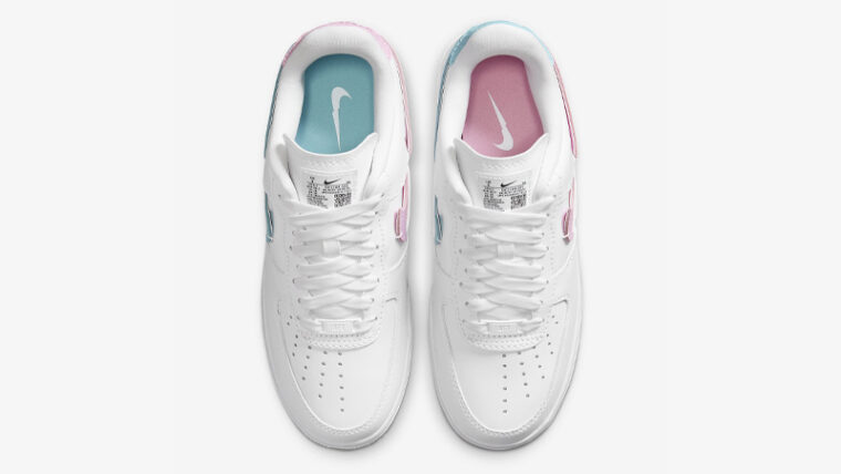 Nike Air Force 1 LXX White Pink Rise Middle thumbnail image