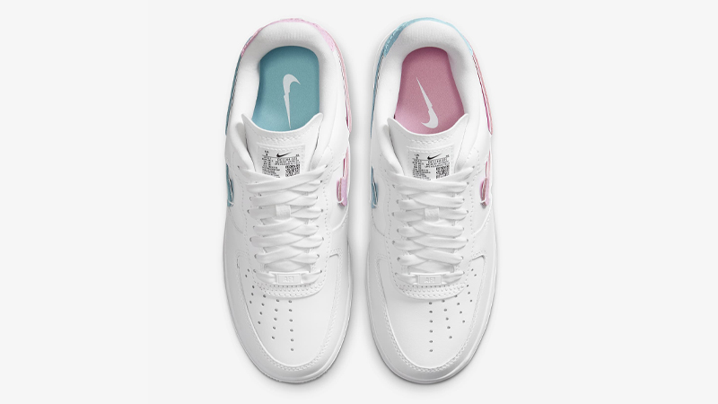Nike Air Force 1 LXX White Pink Rise Middle