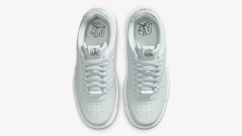 Nike Air Force 1 Pixel Ghost Aqua Black Middle