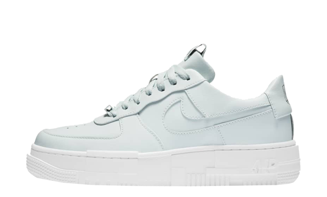 Nike Air Force 1 Pixel Ghost Aqua Black