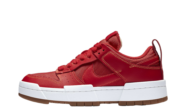 Nike Dunk Low Disrupt Red Gum
