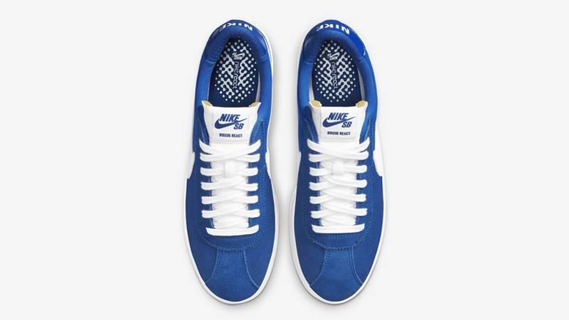 Nike SB Bruin React Team Royal White Middle