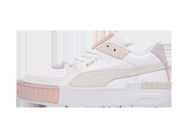 Puma Cali Sport White Peach JD Exclusive
