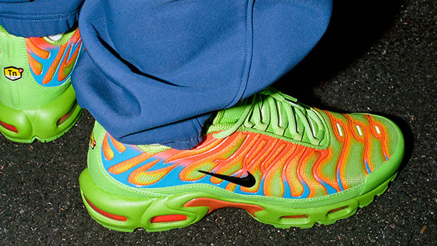 Supreme x Nike TN Air Max Plus Neon Green Red   Where To Buy ...