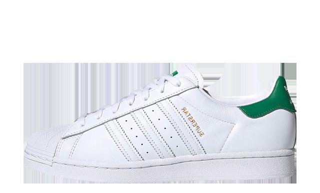 adidas Superstar Cloud White Green
