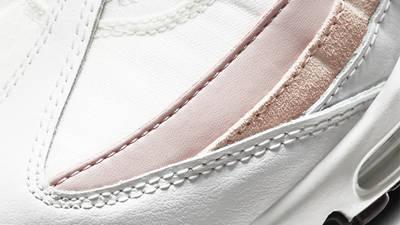 Nike Air Max 95 White Champagne Closeup