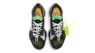 Off-White x Nike Air Zoom Tempo Next% Black Scream Green Top