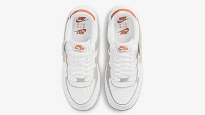Nike Air Force 1 Shadow White Crimson Tint Middle