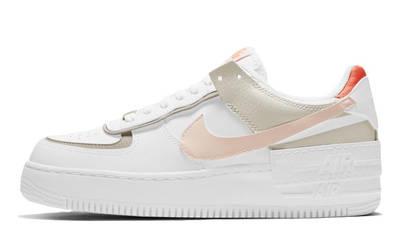 Nike Air Force 1 Shadow White Crimson Tint