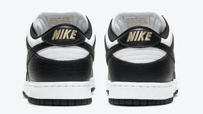 Supreme x Nike SB Dunk Low Stars Black Back