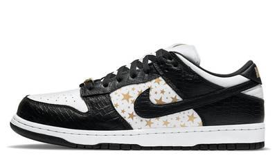 Supreme x Nike SB Dunk Low Stars Black