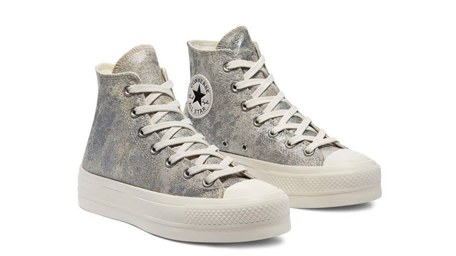 Converse Chuck Taylor All Star Elevated Metallic Platform Hi ...