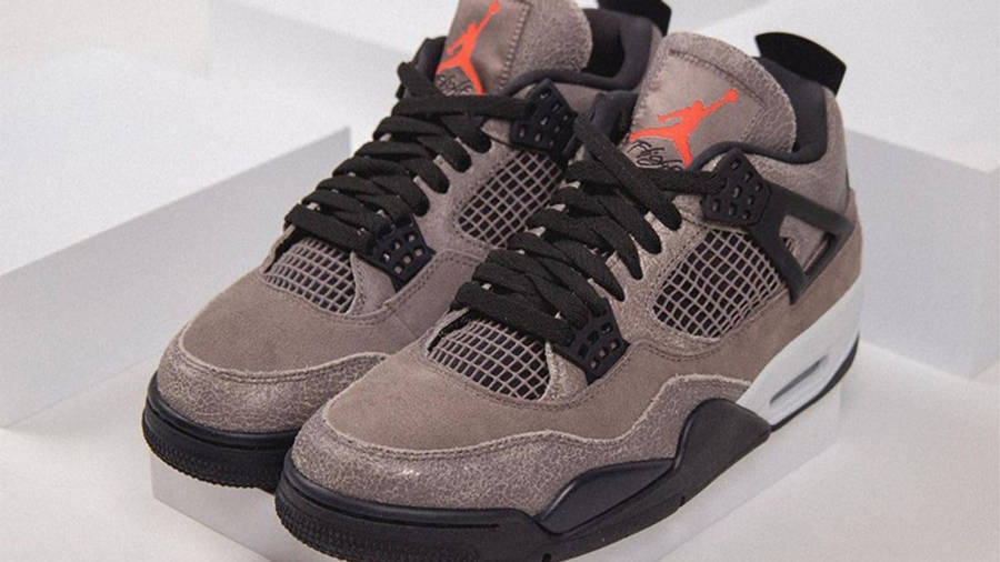 Jordan 4 Taupe Haze Detailed Look Front