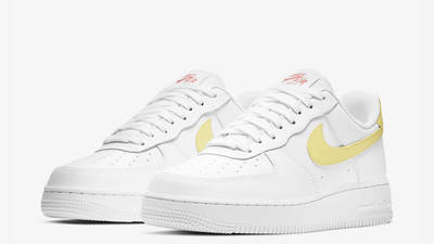 Nike Air Force 1 07 White Light Citron Front