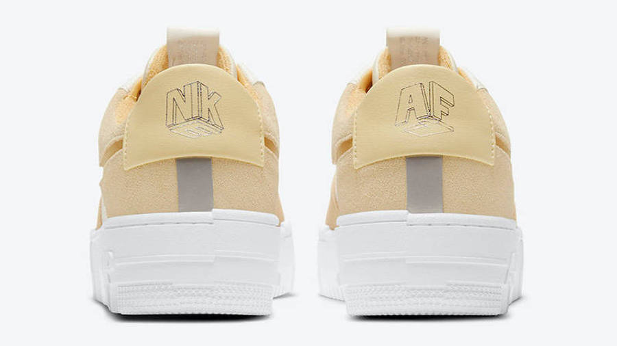 Nike Air Force 1 Pixel Sail Tan Back