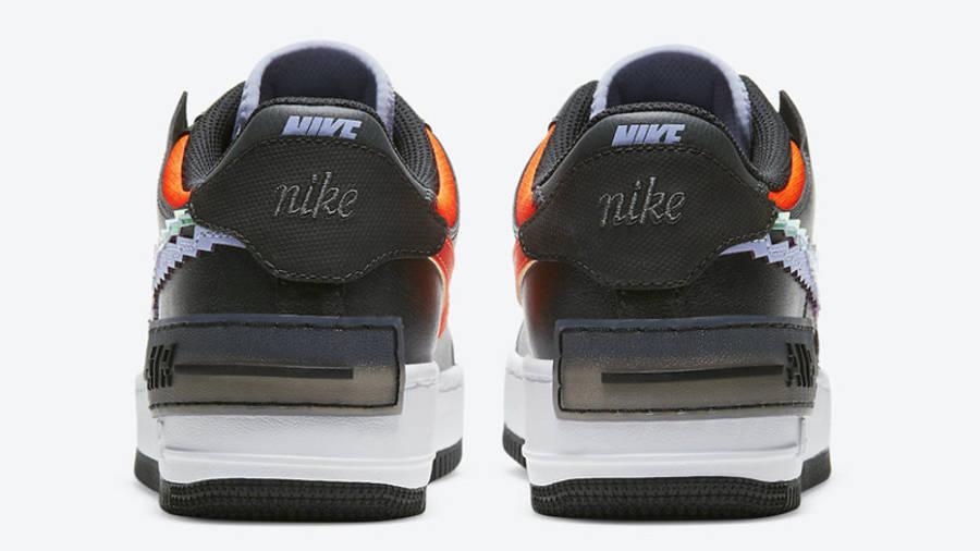 nike air force 1 shadow 8 bit black back w900