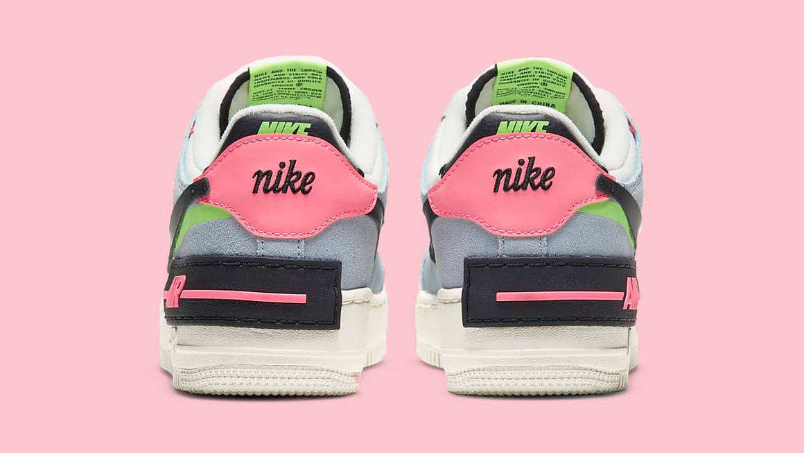 This Dreamy Air Force 1 Shadow Is In Stock Ready To Cop The Sole Womens Nike air force 1 lv8 sneakers/shoes shop now. this dreamy air force 1 shadow is in