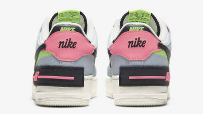 Nike Air Force 1 Shadow Sunset Pulse Back