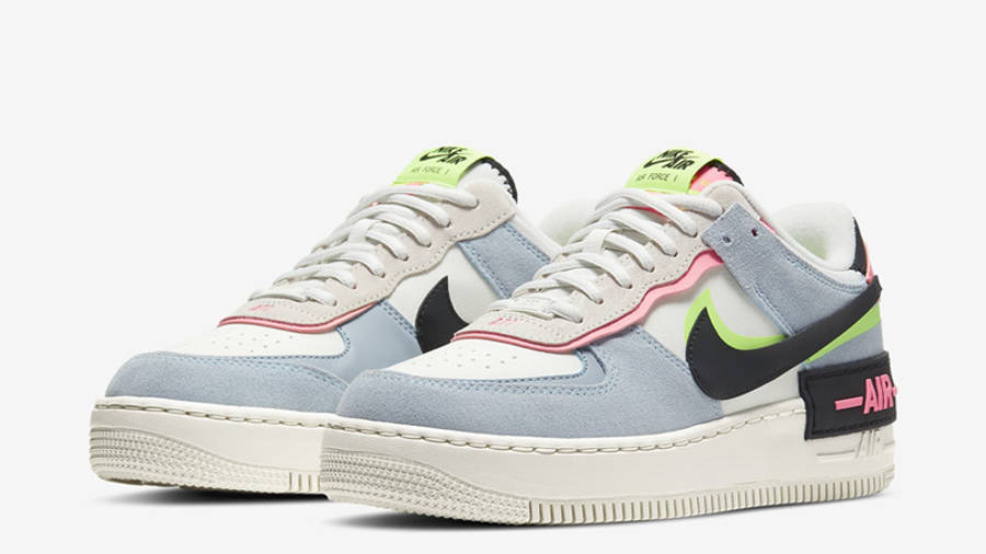 Nike Air Force 1 Shadow Sunset Pulse Front