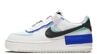 nike air force 1 shadow white chile red sunset pulse w400