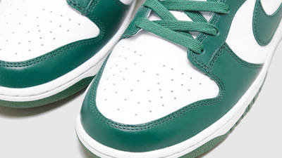 Nike Dunk Low Spartan Green Detailed Look Front