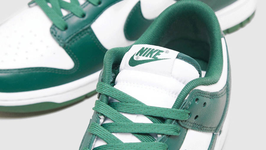 Nike Dunk Low Spartan Green Detailed Look