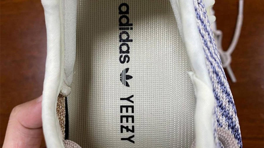 Yeezy Boost 350 V2 Ash Pearl First Look In Sole