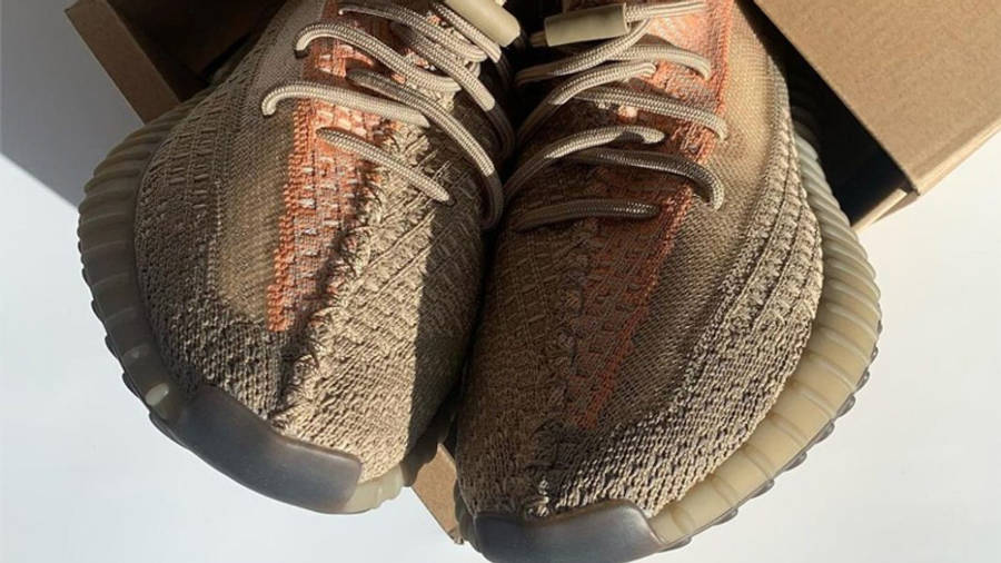 Yeezy Boost 350 V2 Sand Taupe Detailed Look
