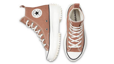 Converse Run Star Hike Tonal Marble Hi Rose Taupe Middle