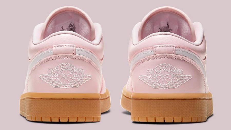Jordan 1 Low Arctic Pink Gum Light Brown Back