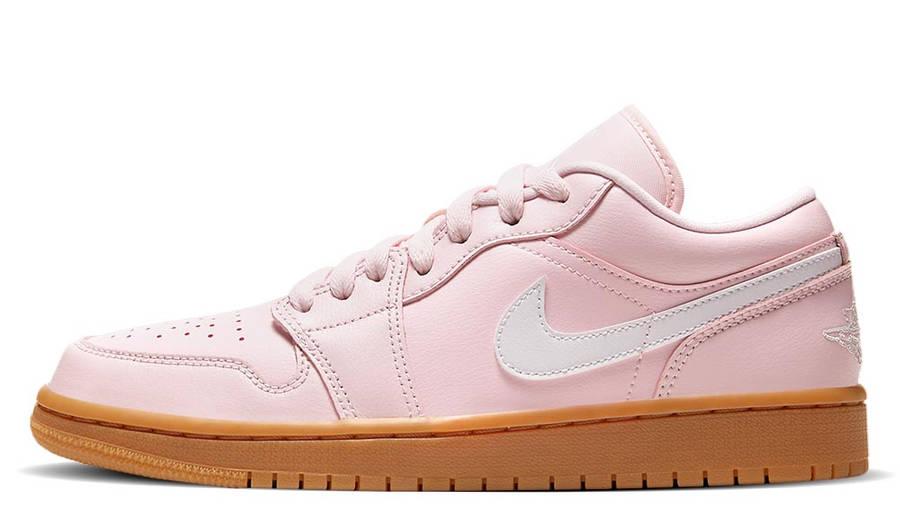 Jordan 1 Low Arctic Pink Gum Light Brown
