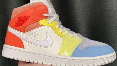 Jordan 1 Mid To My First Coach First Look