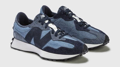 New Balance 327 Denim Indigo Front