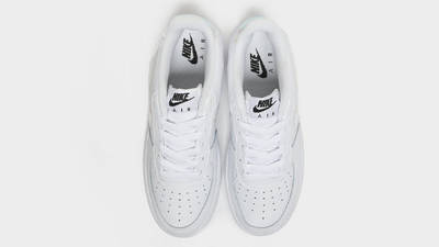 Nike Air Force 1 07 LV8 GS Pixelated Swoosh White Middle