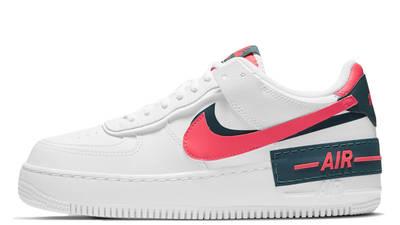 Nike nike shoes skin fit jeans girls White Dark Teal Solar Red