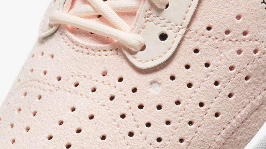Nike Air Zoom Type Orange Pear Closeup