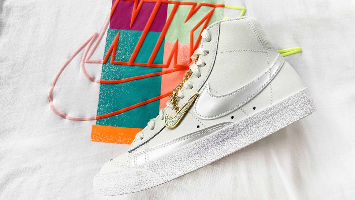 A Closer Look At The Luxurious Nike Blazer Mid '77 'Gold Chain ...
