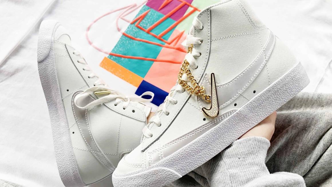 Nike Blazer Mid Chain White 2