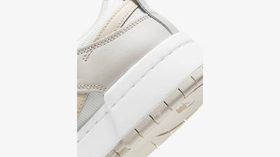 Nike Dunk Low Disrupt Sail Pearl White CK6654-103 Back Detail