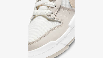 Nike Dunk Low Disrupt Sail Pearl White CK6654-103 Detail