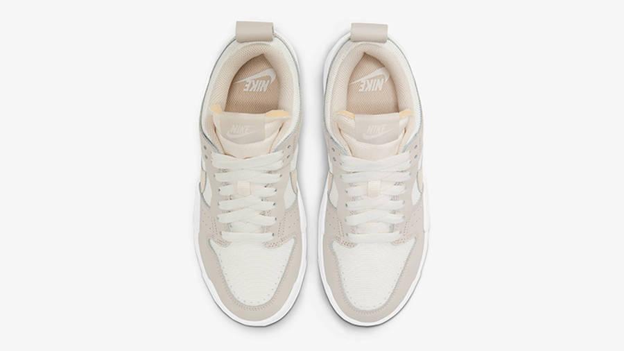 Nike Dunk Low Disrupt Sail Pearl White CK6654-103 Top