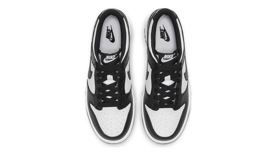 Nike Dunk Low White Black GS CW1590-100 middle