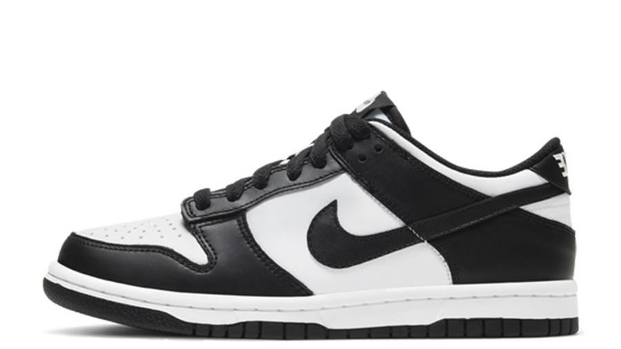 Nike Dunk Low White Black GS CW1590-100