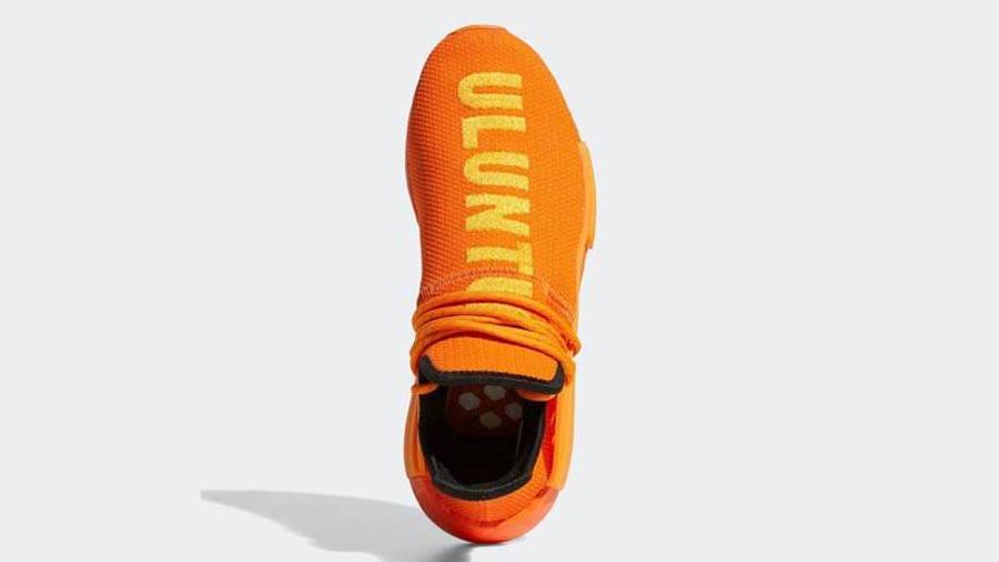 Pharrell x adidas NMD Hu Bright Orange Middle