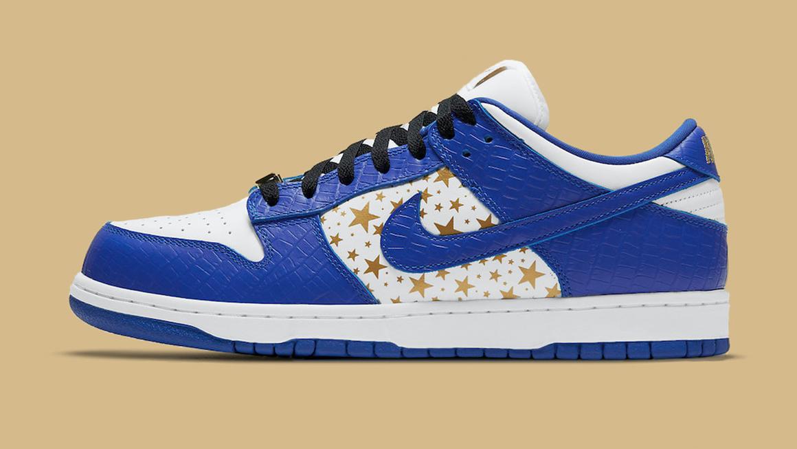 Supreme x SB Nike Hyper Royal Stars