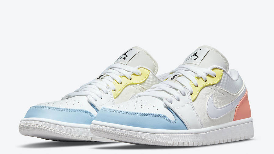 Jordan 1 Low To My First Coach Front